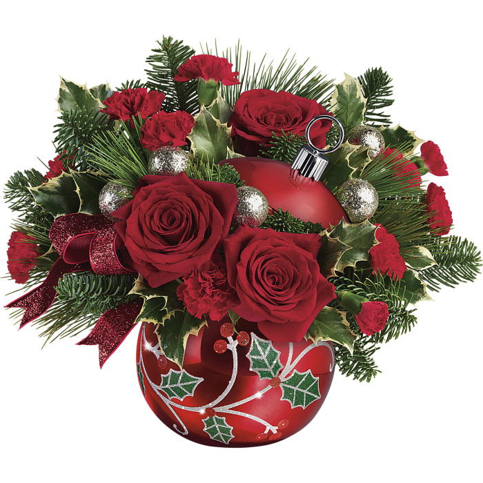 Deck The Holly Ornament Bouquet