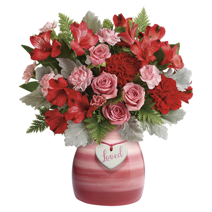 Playfully Pink Bouquet by Doris Tanner\'s Flowers