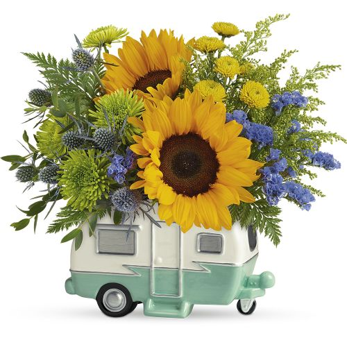 Retro Road Tripper Bouquet