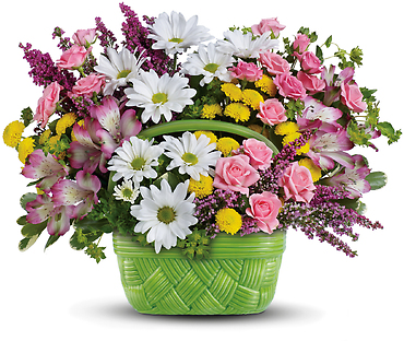 Basket Of Beauty Bouquet