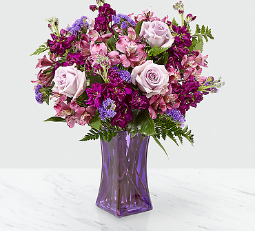 "Purple Presenceâ""¢ Bouquet"