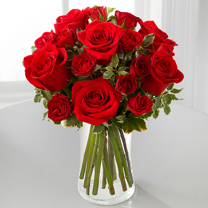 Red Romance™ Rose Bouquet